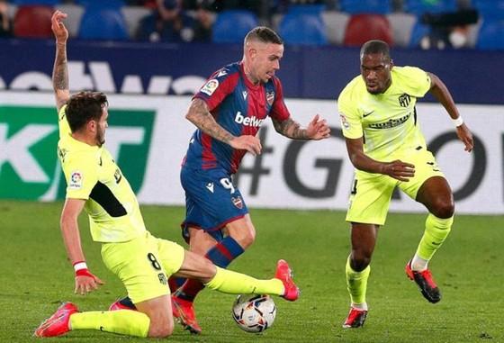 Atletico Madrid để hòa trận thứ 2 trong 3 trận gần nhất.