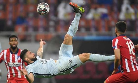 Olivier Giroud đã ghi được một bàn thắng để đời. Ảnh: Getty Images