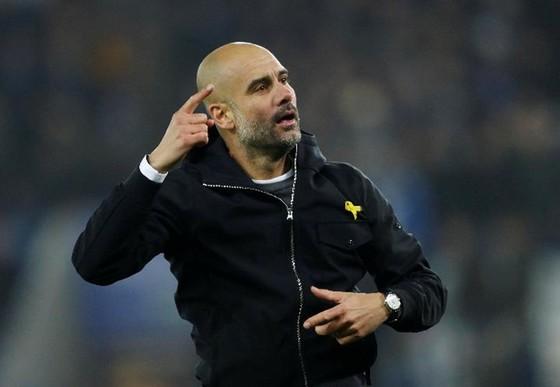 HLV Pep Guardiola khẳng định ông và các học trò đã vượt qua thất vọng từ trận thua Man.United. Ảnh: Getty Images