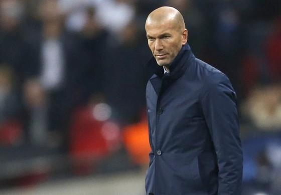 HLV Zinedine Zidane không chắc chắn tương lai. Ảnh: Getty Images