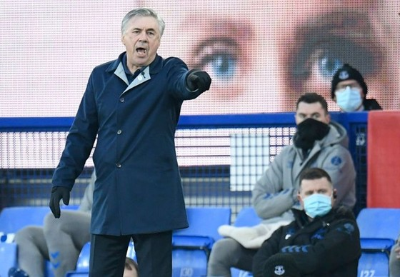 """Đội bóng của HLV Carlo Ancelotti dù """"tử thủ"""", chỉ kiếm soát bóng 26%, nhưng vẫn thua cuộc. Ảnh: Getty Images"""