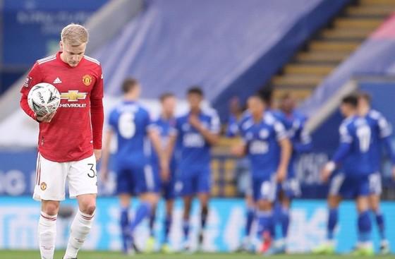 Leicester loại Man.United khỏi FA Cup  ảnh 1