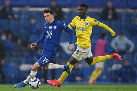 Chelsea bị Brighton cầm hòa 0-0 đáng thất vọng tại Stamford Bridge. Ảnh: Getty Images
