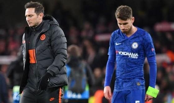 Jorginho cho rằng cựu HLV Frank Lampard chưa sẵn sàng cho môi trường đinh cao nhất. Ảnh: Getty Images