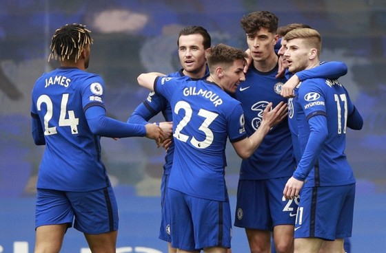 Kai Havertz đã tỏa sáng kịp lúc Chelsea cần cho thời điểm quyết định. Ảnh: Getty Images