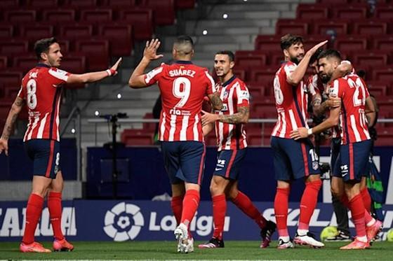 Atletico Madrid đã tiến thêm một bước đến chức vô địch La Liga. Ảnh: Getty Images