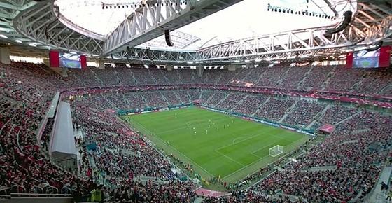 Sân Krestovsky (St Petersburg) sẽ hào hứng chẳng kém kỳ World Cup 2018.