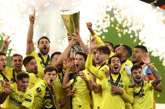 Villarreal giành danh hiệu lớn đầu tiên trong lịch sử CLB. Ảnh: Getty Images