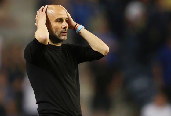 HLV Pep Guardiola và Man.City sẵn sàng đợi cúp vô địch Champions League đến năm.. thứ 11. Ảnh: Getty Images