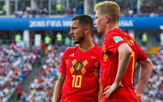 Tuyền Bỉ đang hồi hộp chờ tin về tình trạng của Eden Hazard và Kevin de Bruyne.