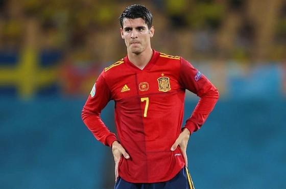 Bản thân Alvaro Morata cũng lộ rõ thất vọng với chính mình.