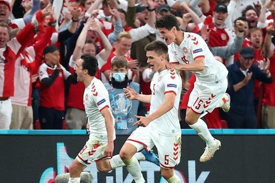 Đan Mạch hy vọng vẫn có cảm giác sân nhà dù chơi tại Hà Lan. Ảnh: Getty Images