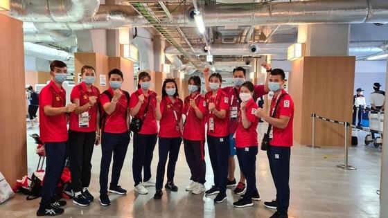 Đoàn thể thao Việt Nam đã hoàn tất thủ tục đề rời Tokyo ảnh 2