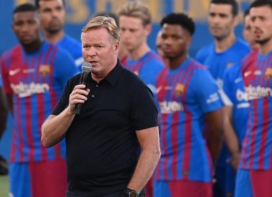 HLV Ronald Koeman vẫn đầy tự tin khi nói về tương lai không Lionel Messi.