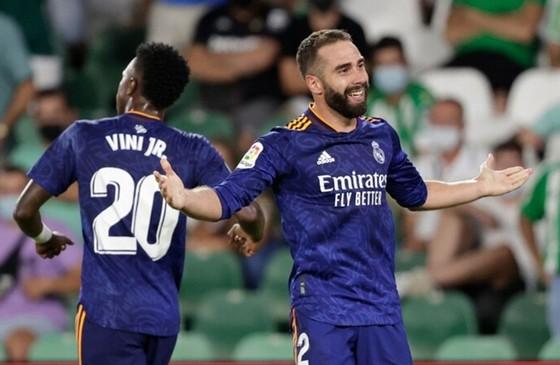 Dani Carvajal hạnh phúc với màn trở lại sau một thời gian dài chấn thương.