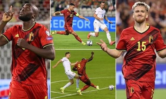 Lukaku ghi bàn trong trận thứ 100, Bỉ gia tăng cách biệt với CH Séc ảnh 1