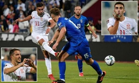 Ferran Torres tiếp tục tỏa sáng bằng những bàn thắng cho Tây Ban Nha