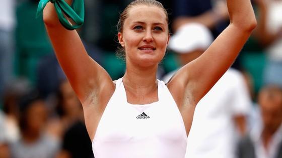 Kristina Mladenovic đang là niềm hy vọng số 1 của làng quần vợt Pháp ở Roland Garros 2017.
