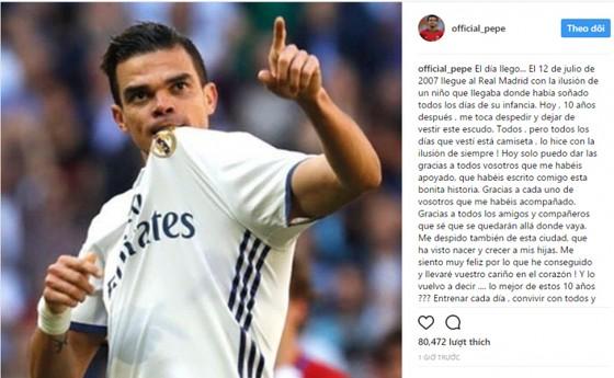 Pepe trách móc Zidane
