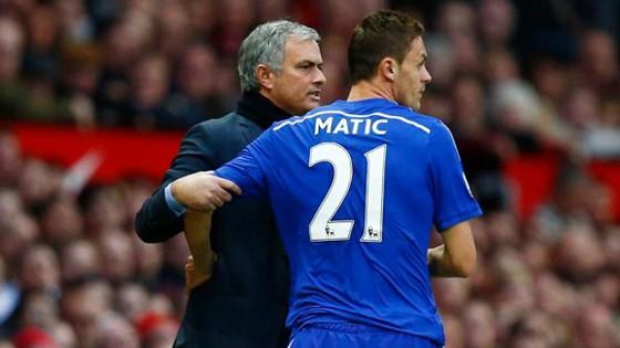 Mối quan hệ tốt với Jose Mourinho là lý do khiến Nemanja Matic quyết tâm đến Man.United