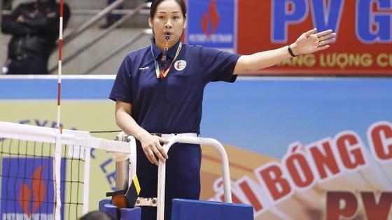 Nữ trọng tài quốc tế Nguyễn Thị Thanh Hoa sẽ tham gia điều hành môn bóng chuyền SEA Games 29.  Ảnh: Thiên Hoàng