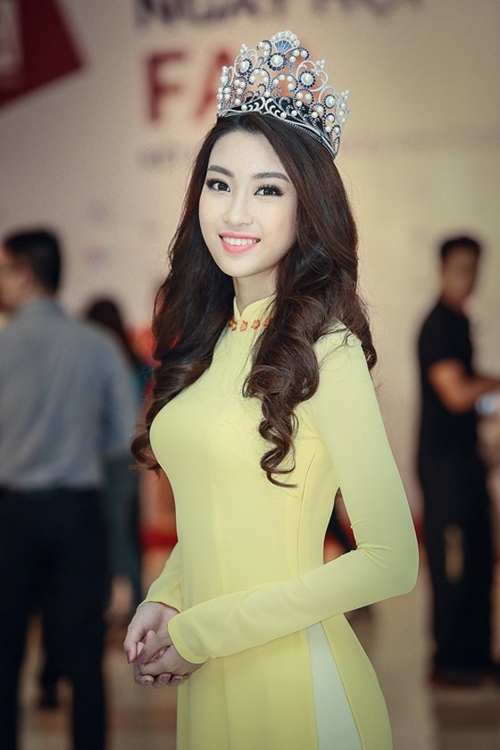 Đỗ Mỹ Linh đại diện Việt Nam thi Hoa hậu Thế giới 2017 ảnh 1