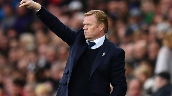 Chiến lược gia người Hà Lan đang gặp khó tại Everton.