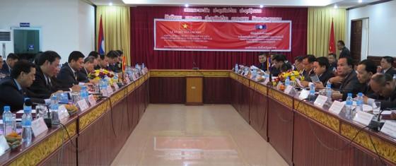 Bí thư Thành ủy TPHCM Nguyễn Thiện Nhân hội đàm với lãnh đạo tỉnh Savannakhet  ảnh 1