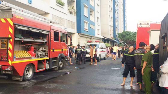 Cháy chung cư cao cấp ở TPHCM, 13 người tử vong ảnh 31