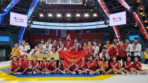 Taekwondo Việt Nam vượt qua chủ nhà Hàn Quốc giành HCV Đại hội Võ thuật thế giới Chungju 2019 ảnh 1
