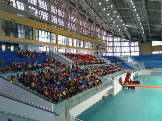 Một góc Nhà thi đấu Thể thao tỉnh Bắc Giang