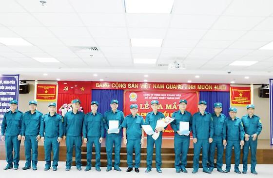 Lễ ra mắt Ban chỉ huy quân sự và tiểu đội tự vệ Công ty TNHH Một thành viên Xổ số kiến thiết TPHCM ảnh 2