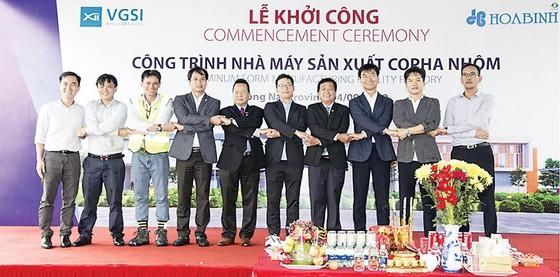 Tập đoàn Xây dựng Hòa Bình khởi công Nhà máy Coffa nhôm VGSI Đồng Nai ảnh 2