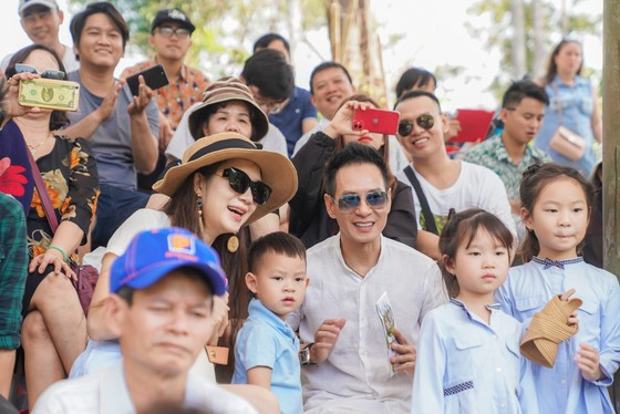 """Dàn sao Việt """"đại náo"""" Vinpearl Land và Safari Phú Quốc   ảnh 1"""