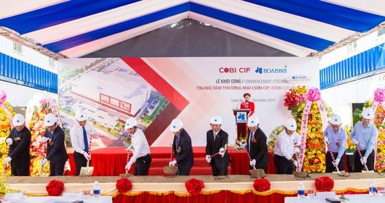 Hòa Bình khởi công dự án Trung tâm Thương mại COBI CIF, giá trị hơn 460 tỷ đồng ảnh 1