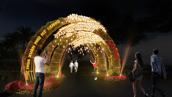 Hội hoa xuân Phú Mỹ Hưng 2020: Rước lộc Đồng Hoa ảnh 1