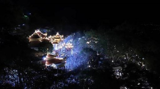 Danh thắng Núi Bà Đen đón lượng khách lớn trong dịp Tết Canh Tý ảnh 1