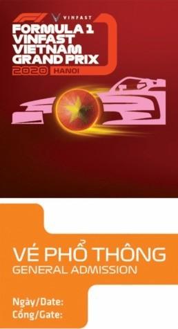 Chiếc vé F1 lấy cảm hứng từ các biểu tượng văn hoá Việt ảnh 1