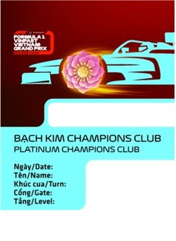 Chiếc vé F1 lấy cảm hứng từ các biểu tượng văn hoá Việt ảnh 4