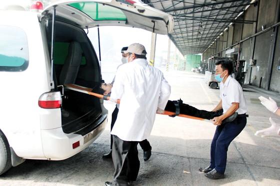 Vedan Việt Nam tổ chức buổi thực tập phương án chữa cháy và cứu nạn cứu hộ cho gần 150 cán bộ công nhân viên ảnh 1