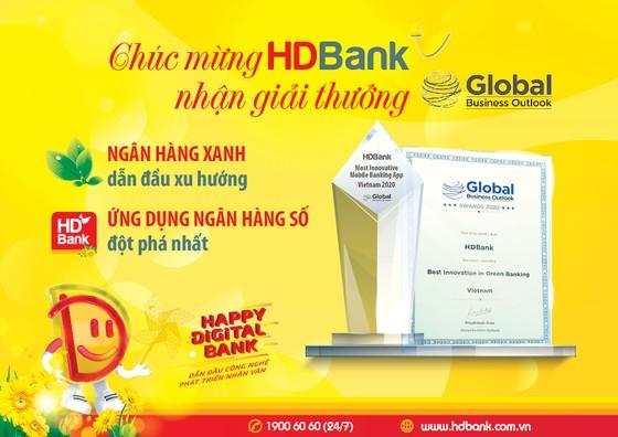 HDBank nhận giải Triển vọng Kinh doanh Toàn cầu năm 2020 ảnh 1