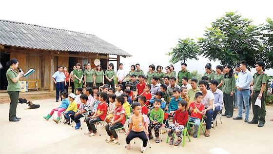 Tập đoàn Xây dựng Hòa Bình tài trợ xây điểm Trường Cốc Diển tại Bắc Kạn ảnh 1