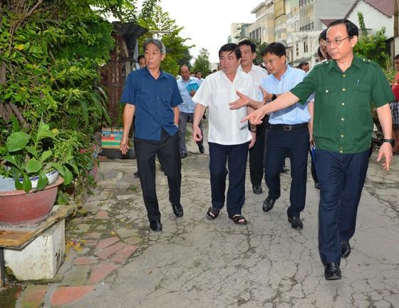 Bí thư Thành ủy TPHCM Nguyễn Văn Nên: Chống ngập cần phải làm đồng bộ ảnh 2