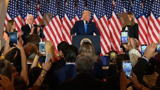 Bầu cử Mỹ 2020: Đương kim Tổng thống có 213 phiếu đại cử tri, ứng viên Joe Biden giành 238 phiếu ảnh 3