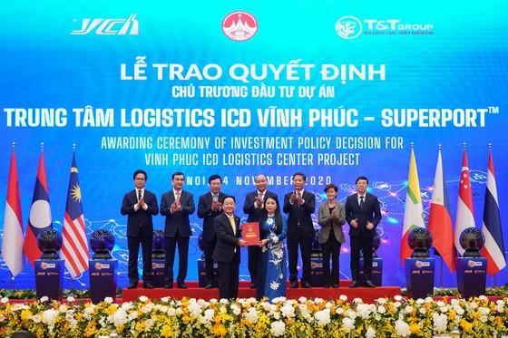 """Thủ tướng khởi động mạng lưới Logistics thông minh ASEAN (ASLN) với dự án đầu tiên """"Trung tâm Logistics ICD Vĩnh Phúc"""" ảnh 1"""