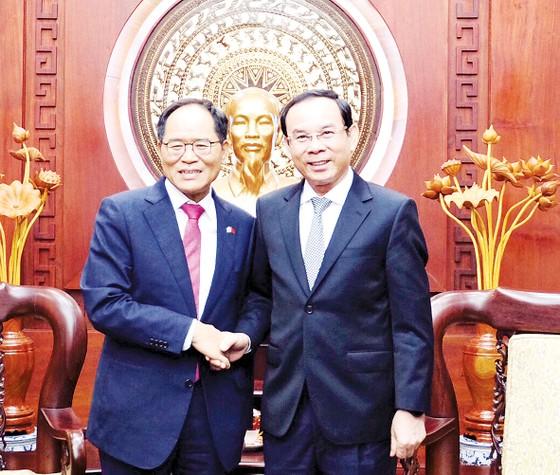 TPHCM - Hàn Quốc thúc đẩy hợp tác về chuyển đổi số ảnh 1