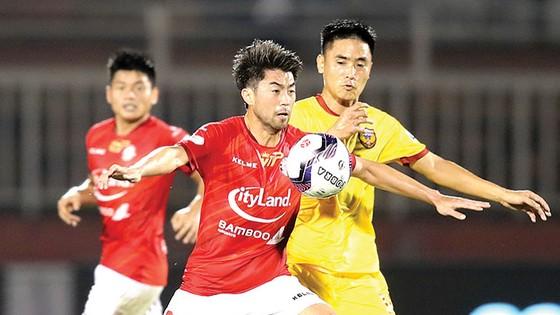 Tiền đạo Lee Nguyễn, người đã góp công trong chiến thắng của CLB TPHCM trước Hà Tĩnh