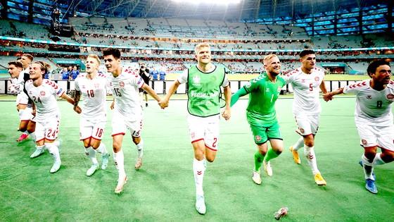 Các cầu thủ Đan Mạch đã tạo nên câu chuyện đầy cảm xúc  ở vòng tứ kết