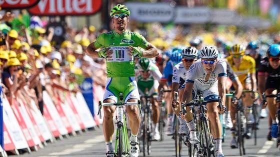 Tour de France 2017: Sagan và chiếc Áo xanh Vua thắng chặng ảnh 1