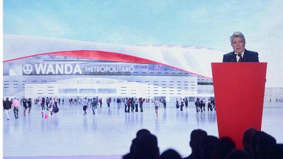 Atletico là đội bóng La Liga đầu tiên đặt tên sân theo nhà tài trợ.